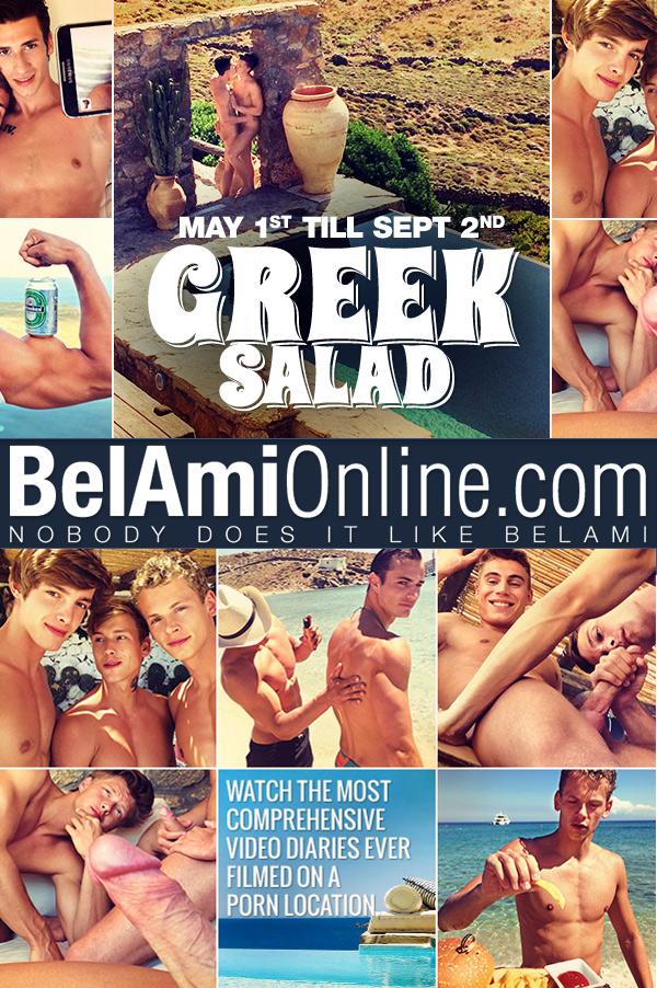 Greek Salad: Afternoon Quickie (Adam Archuleta Fucks Bastian Dufy) (Part 9) (Bareback) at BelAmiOnline.com