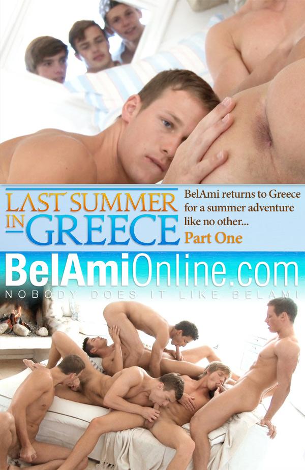 Last Summer in Greece (Adam Archuleta, Marc Ruffalo, Marcel Gassion, Robin Michaux, Brian Jovovich & Roald Ekberg) (Part 1) (Bareback) at BelAmiOnline.com