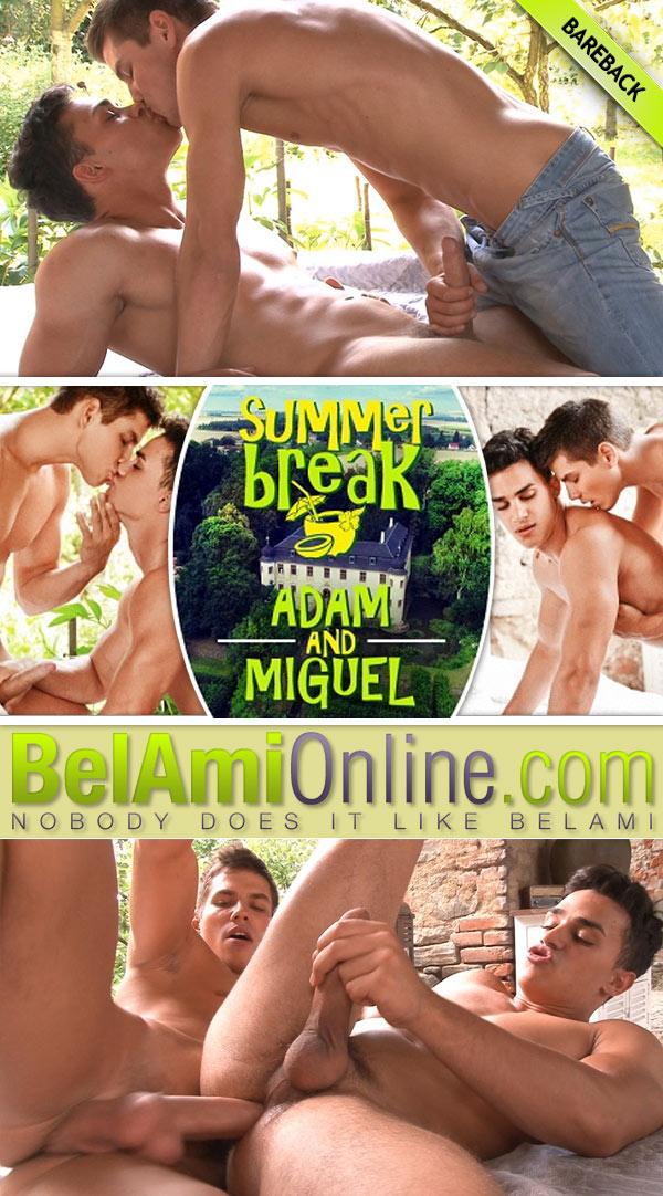 Summer Break (Adam Archuleta Fucks Miguel Estevez) (Part Six) at BelAmiOnline.com