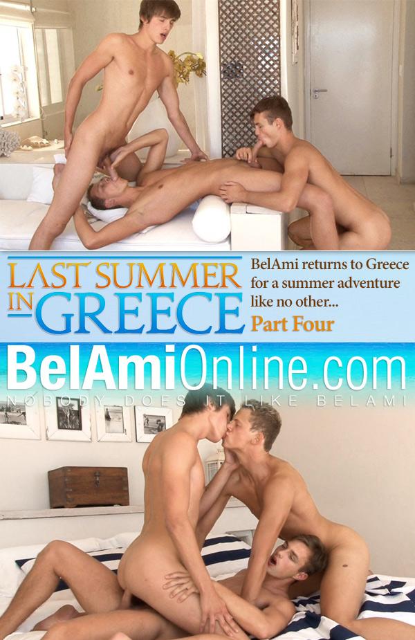 Last Summer in Greece (Hoyt Kogan, Helmut Huxley & Jerome Exupery) (Part 4) (Bareback) at BelAmiOnline.com