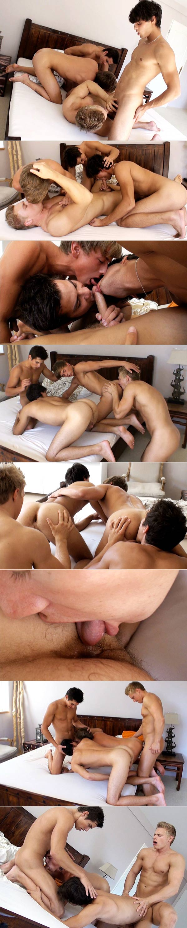 Brady Jensen and the Kinky Angels (Part 2) at BelAmiOnline.com