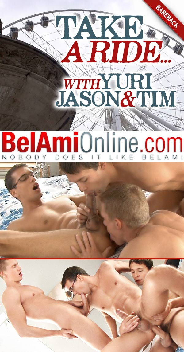 Take A Ride... (Tim Campbell & Yuri Alpatow Tag-Team Jason Clark) at BelAmiOnline.com