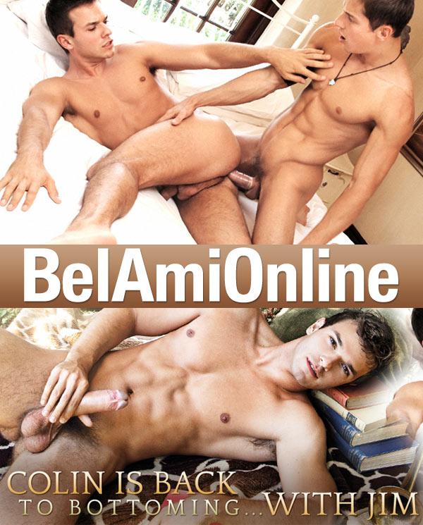 Jim Kerouac & Colin Hewitt at BelAmiOnline.com