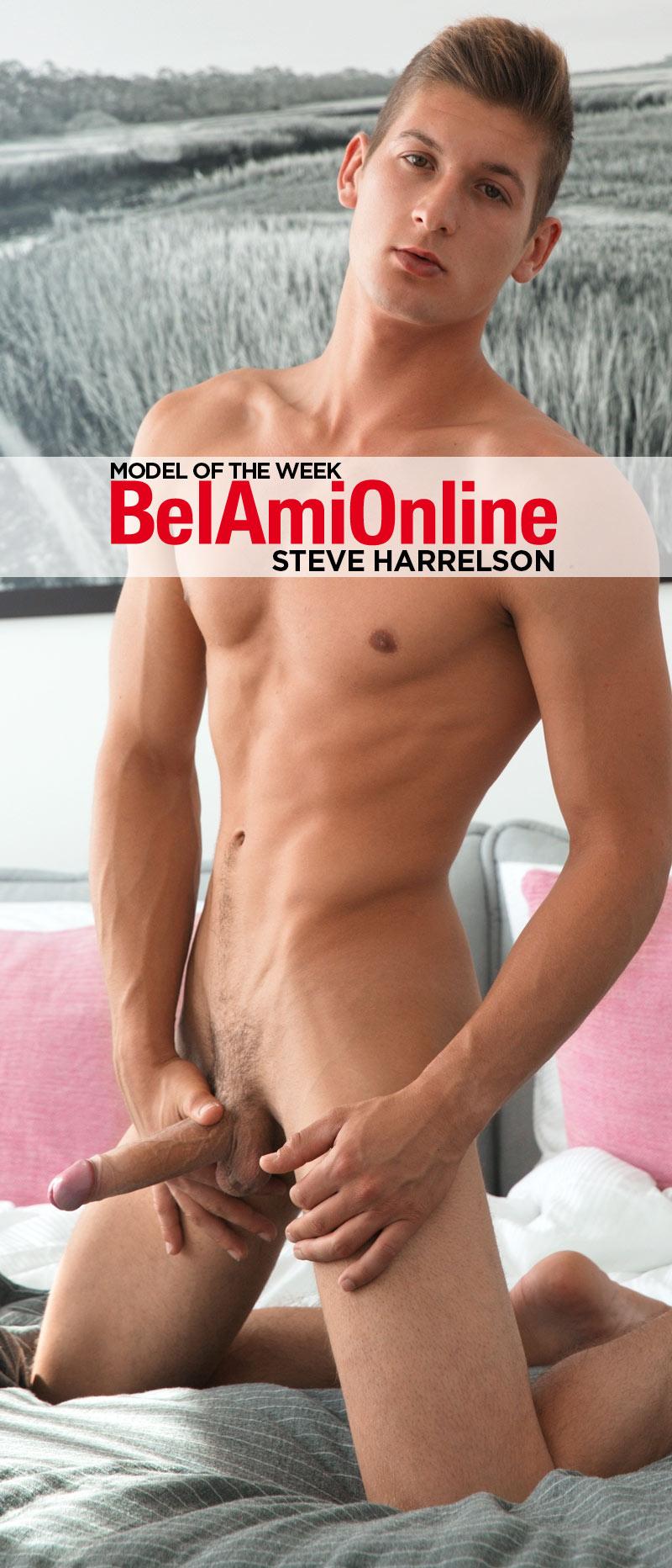 Steve Harrelson [Model of the Week] at BelAmiOnline.com