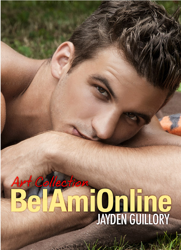 Jayden Guillory in 'Bel Ami's Art Collection' Photoshoot at BelAmiOnline.com