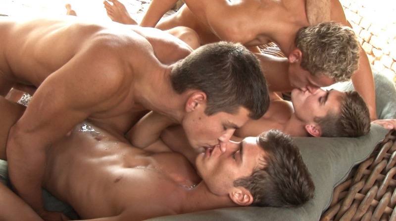 Summer Break (Adam Archuleta, Jerome Exupery, Jean-Luc Bisset and Jason Bacall) (Part 12) at BelAmiOnline.com