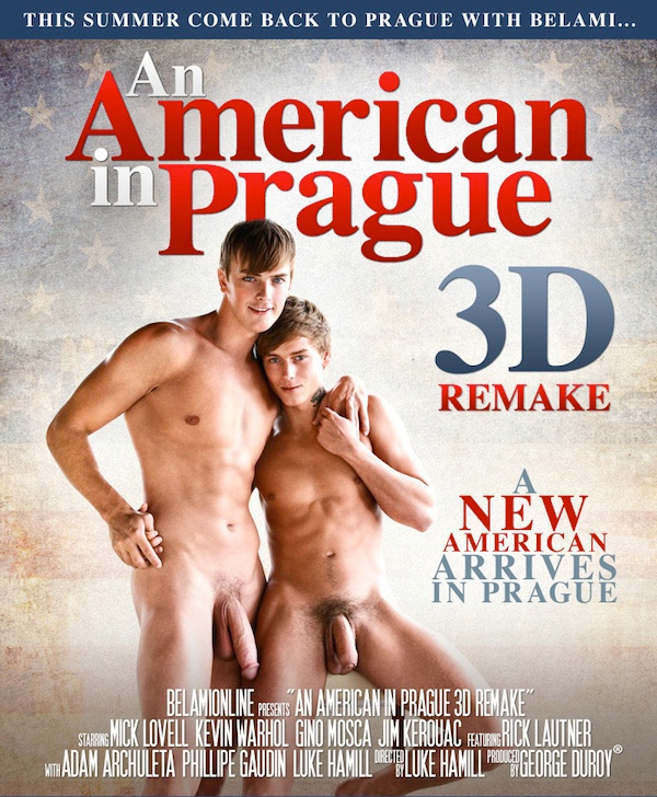 An American in Prague: Mick Lovell & Kevin Warhol (Part 7) (Bareback) at BelAmiOnline.com