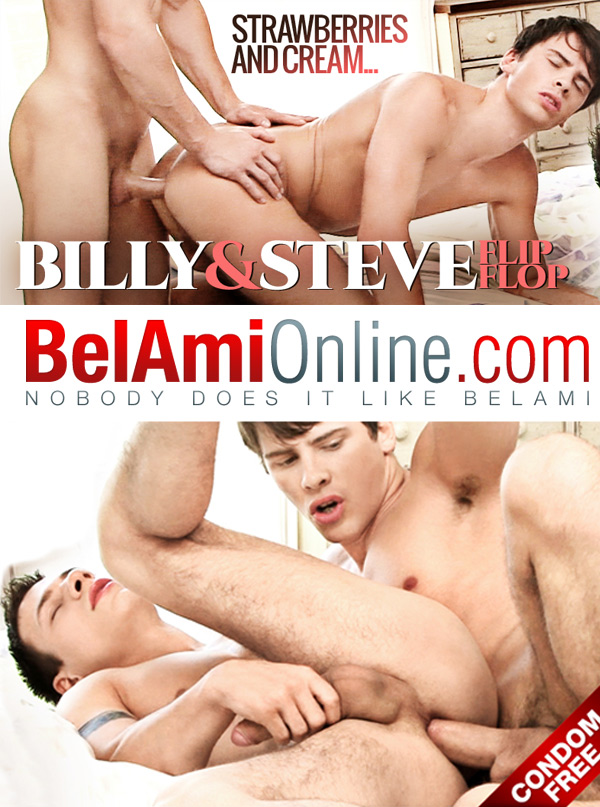Strawberries & Cream (Billy Montague & Steve Russell) (Parts 1 & 2) (Bareback) at BelAmiOnline.com