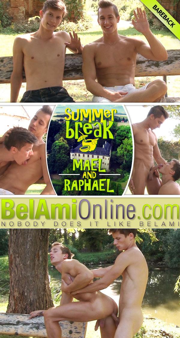 Summer Break (Mael Gauthier Fucks Raphael Nyon) (Part 13) at BelAmiOnline.com