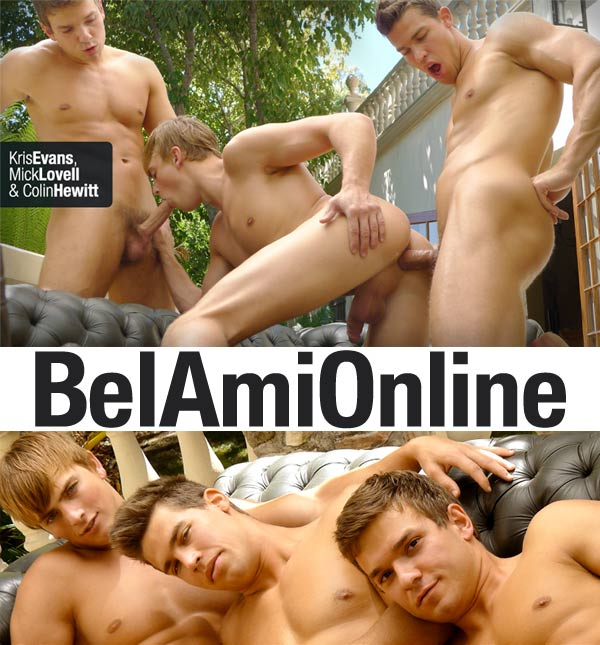 Kris Evans, Colin Hewitt & Mick Lovell (Part 2) at BelAmiOnline.com