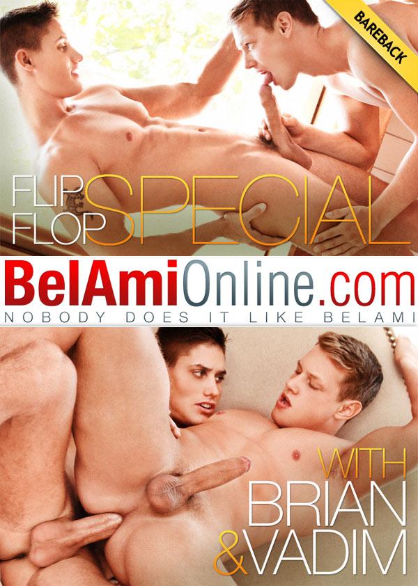 Flip-Flop Special (Vadim Farrell and Brian Jovovich) (Bareback) at BelAmiOnline.com
