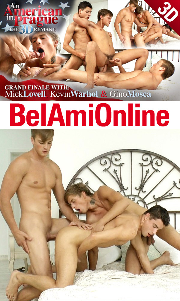 An American In Prague Finale (Mick Lovell, Gino Mosca & Kevin Warhol) (Parts 1 & 2) at BelAmiOnline.com