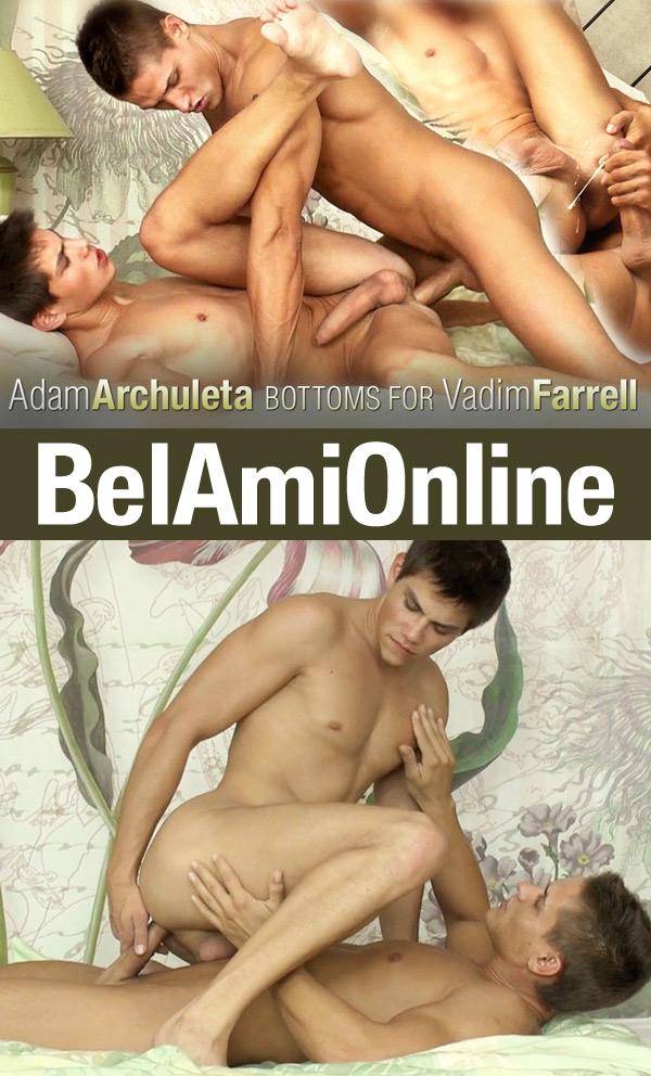 Adam Archuleta & Vadim Farrell (Bareback) at BelAmiOnline.com