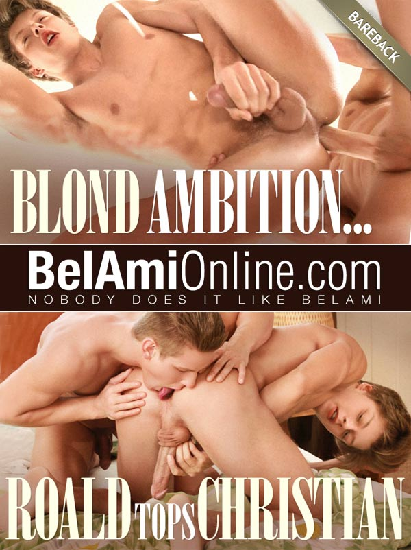 Blond Ambition... (Roald Ekberg Tops Christian Lundgren) at BelAmiOnline.com
