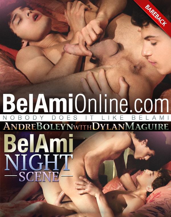 Dylan Maguire Fucks Andre Boleyn (Bareback) at BelAmiOnline.com