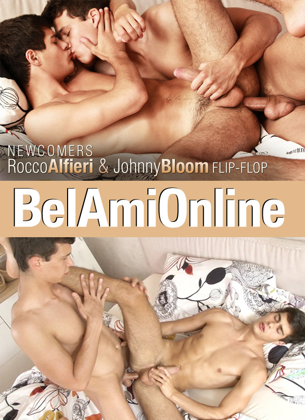 Johnny Bloom & Rocco Alfieri (Bareback Flip-Flop) (Parts 1 & 2) at BelAmiOnline.com