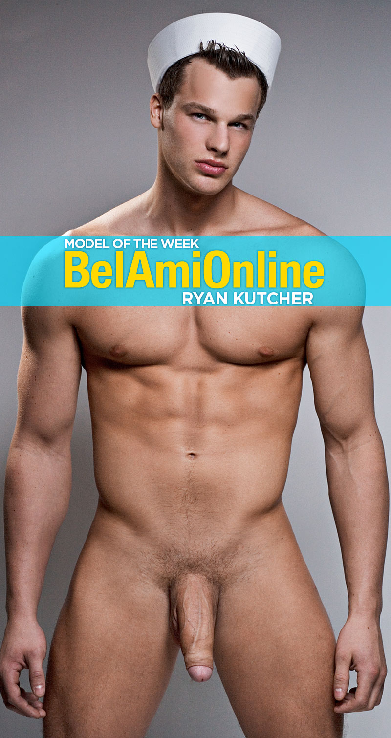 Ryan Kutcher (Model of the Week) at BelAmiOnline.com