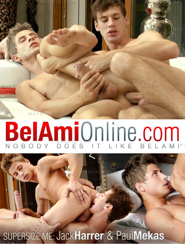 Supersize Me (Jack Harrer & Paul Mekas) (Bareback) at BelAmiOnline.com
