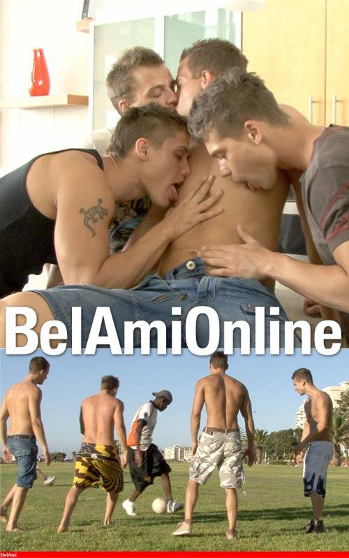 Vadim, Erik, Florian & Julien (Parts 1 & 2) at BelamiOnline