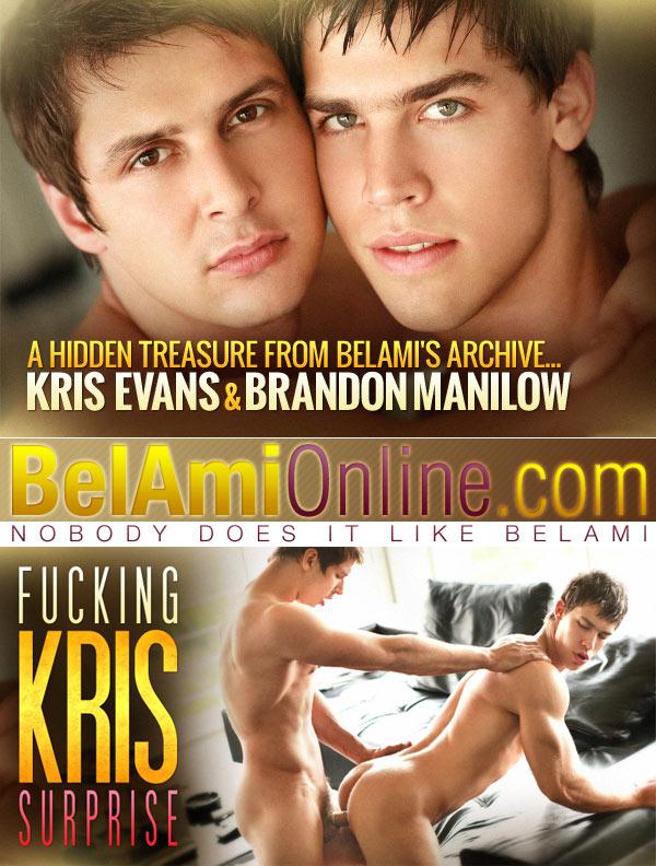 Kris Evans & Brandon Manilow (Condom Archive) at BelAmiOnline at BelAmiOnline.com
