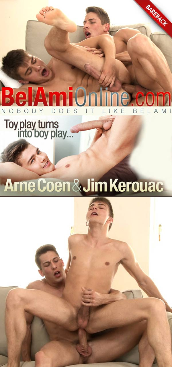 Jim Kerouac & Arne Coen (Toy Play Turns Into Bareback Boy Play...) at BelAmiOnline at BelAmiOnline.com