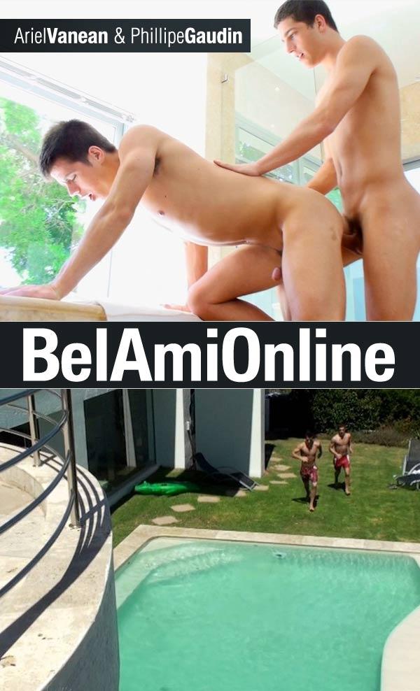 Ariel Vanean & Phillipe Gaudin (Bareback) at BelAmiOnline