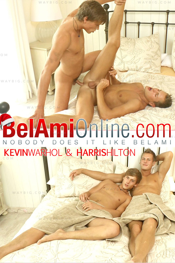 Kevin Warhol & Harris Hilton (Bareback) at BelAmiOnline.com