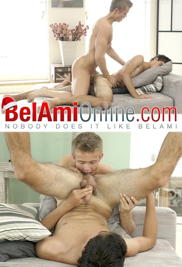 Tom Pollock & Rocco Alfieri (Bareback) at BelAmiOnline.com