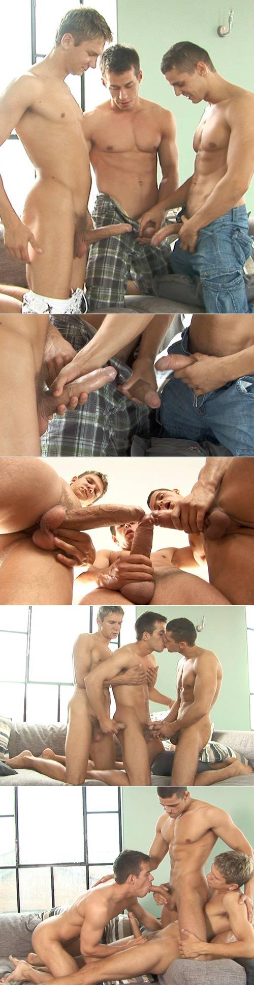 Manuel, Trevor and Henri at BelamiOnline