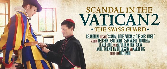 Bel Ami's Scandal in the Vatican 2: The Swiss Guard at BelAmiOnline.com