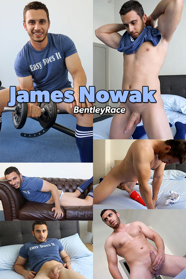 James Nowak (Working Out) at Bentley Race