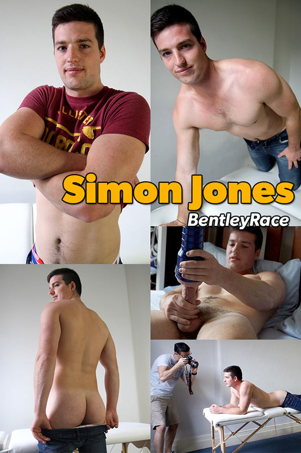 Simon Jones (New Str8 Aussie Mate) at Bentley Race