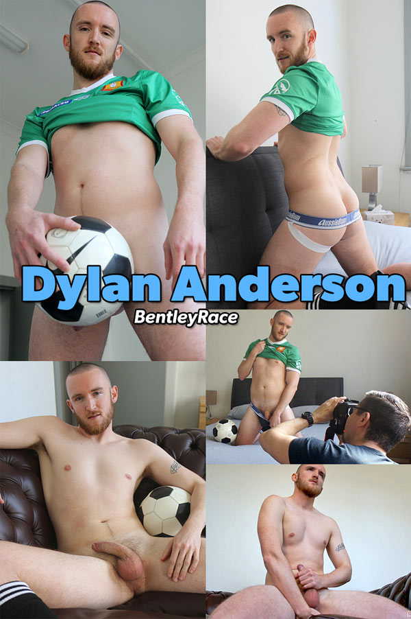 Dylan Anderson (Aussie Boy Stripping and Stroking) at Bentley Race
