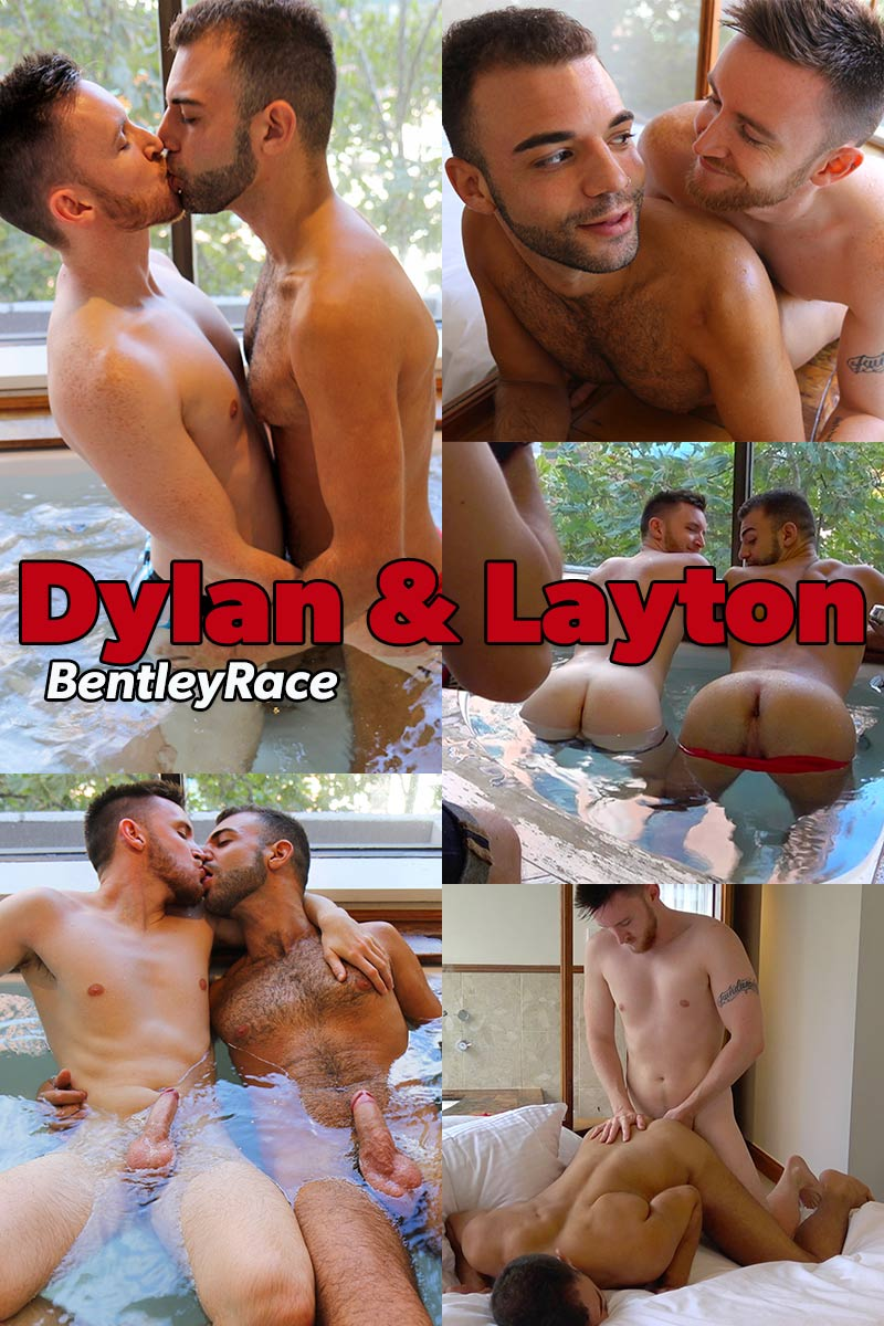 Dylan Anderson and Layton Charles (Hitting the Hot Tub) at Bentley Race