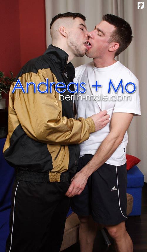 Andreas + Mo at Berlin-Male