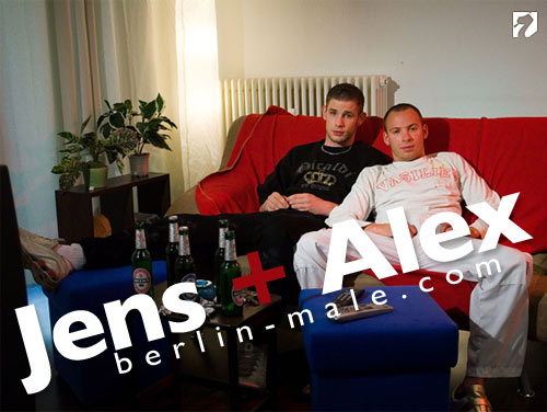 Jens + Alex at Berlin-Male