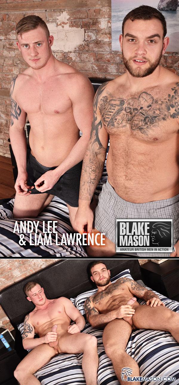 Andy Lee & Liam Lawrence (Straight Mates, Shared Wank) at BlakeMason