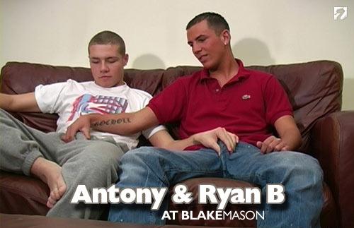 Antony and Ryan B. at BlakeMason.com