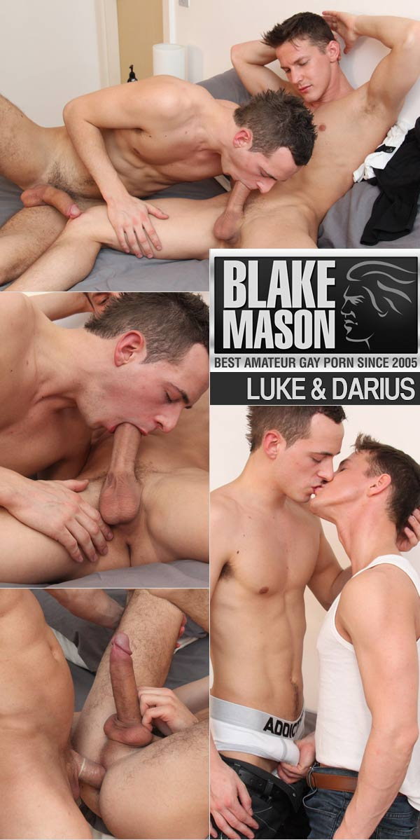 Luke Desmond & Darius (Hung Boys Flip-Fucking!) at BlakeMason