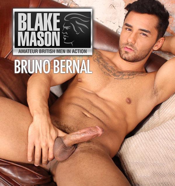 Bruno Bernal (Brazilian Hunk Bruno Strokes It) at BlakeMason