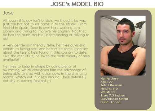 BlakeMason: Jose's Model Bio