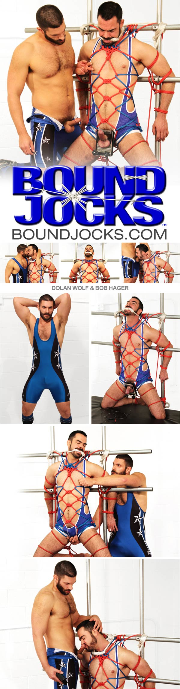 Dolan Wolf & Bob Hager at BoundJocks.com
