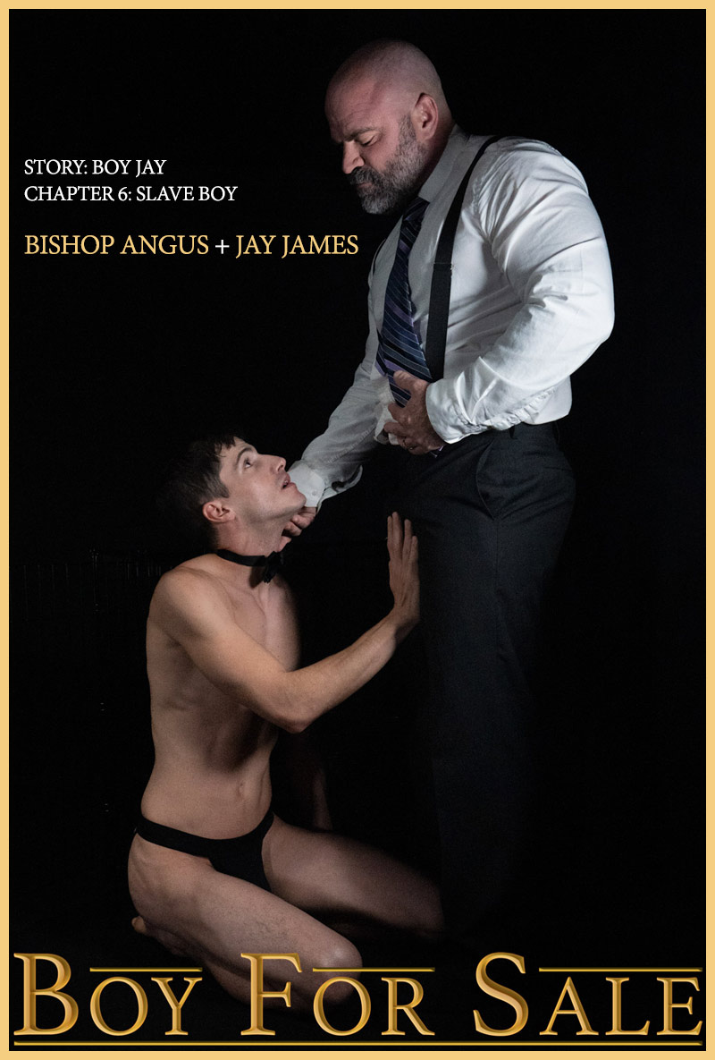Boy For Sale: Bishop Angus Fucks Jay James in 'Boy Jay CHAPTER 6: Slave Boy' on Cock4Cock