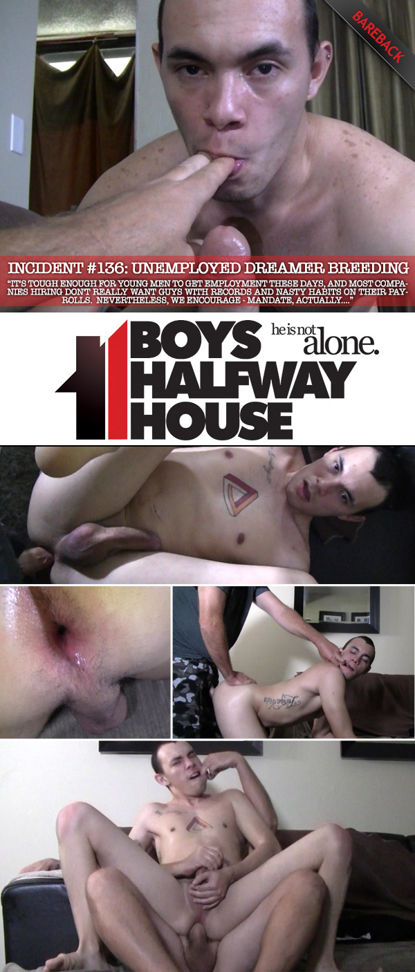Incident #136: Unemployed Dreamer Breeding at Boys Halfway House
