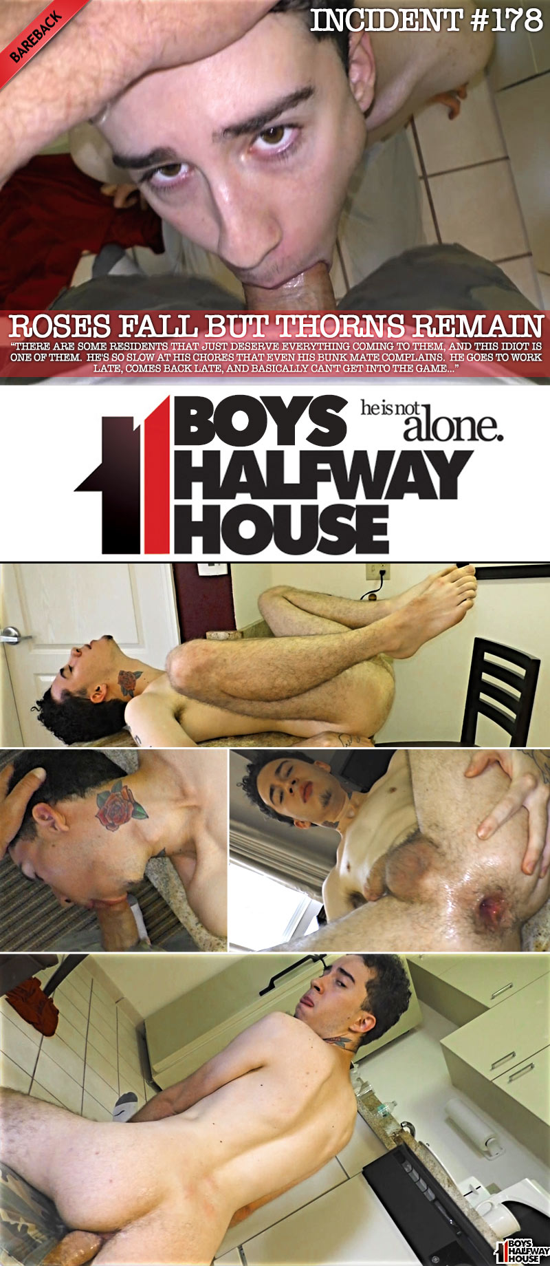 Incident #178: Roses Fall But Thorns Remain (feat. Jayden Black) at Boys Halfway House