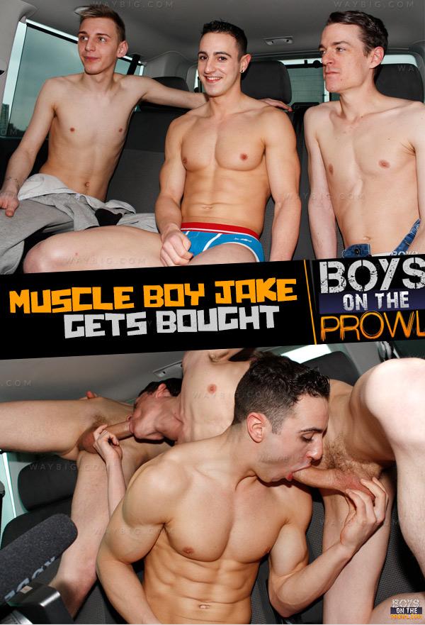 Muscle Boy Jake Gets Bought (Jake Kelvin, Reece Bentley & Sean McKenzie) Boys On The Prowl