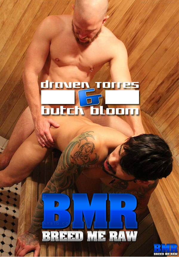 Draven Torres & Butch Bloom (Bareback) at BreedMeRaw.com