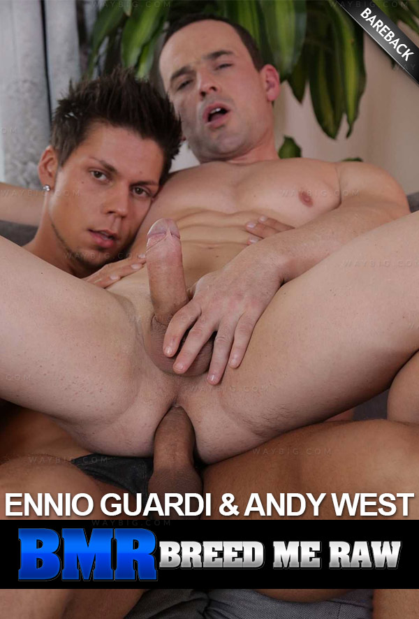 Ennio Guardi and Andy West (Bareback) at BreedMeRaw.com