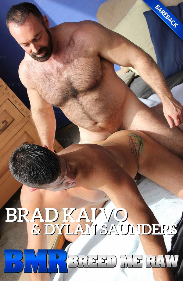 Brad Kalvo & Dylan Saunders (Bareback) at BreedMeRaw.com
