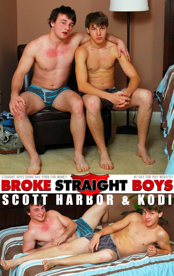 Scott Harbor & Kodi at Broke Straight Boys